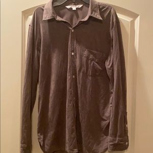 Brown Max Studio button up